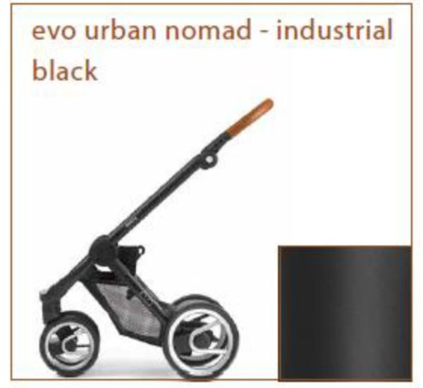 4-колка EVO URBAN NOMAD BLACK шаси 2018